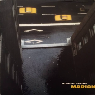 "Marion - Let's All Go Together (7"") (Yellow Vinyl) (EX+/G+)"